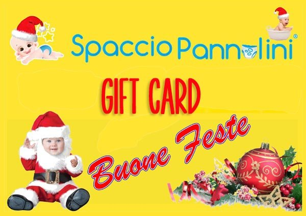 GIFTCARD2016 Spaccio Pannolini mamme marchigiane