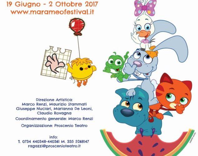 Marameo festival teatro ragazzi 2017