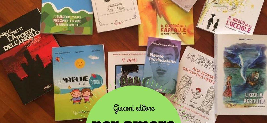Per amore dei libri 2017 giaconi editore Macerata
