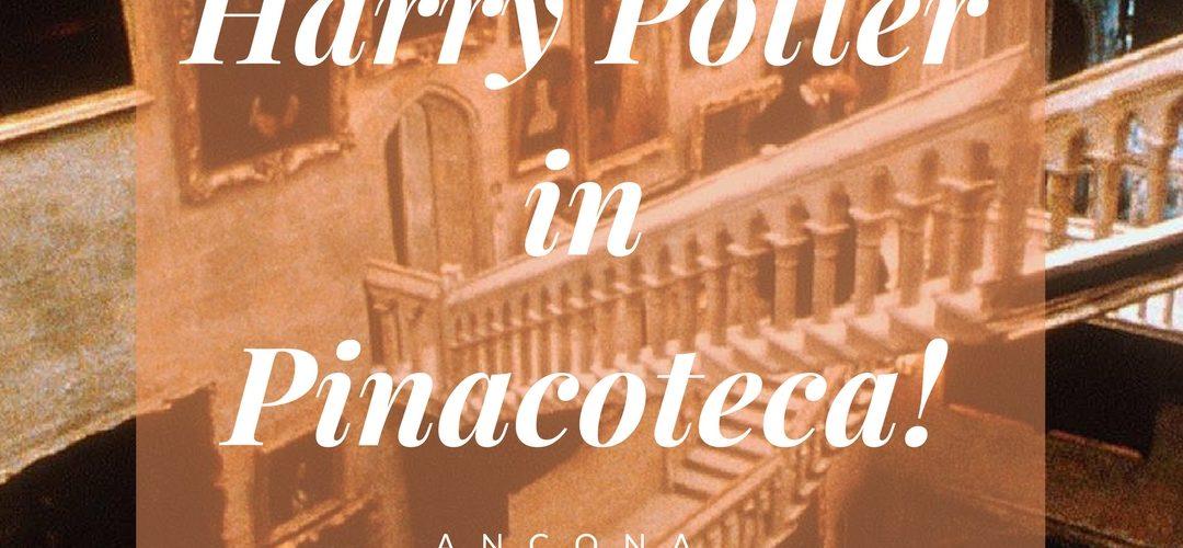 Harry Potter in pinacoteca ancona