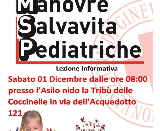 manovre salvavita pediatrica