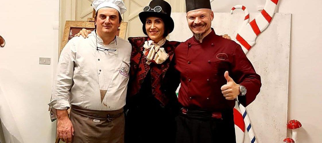 fabbrica di ciocclato Fermo Natale2019 Willy Wonka
