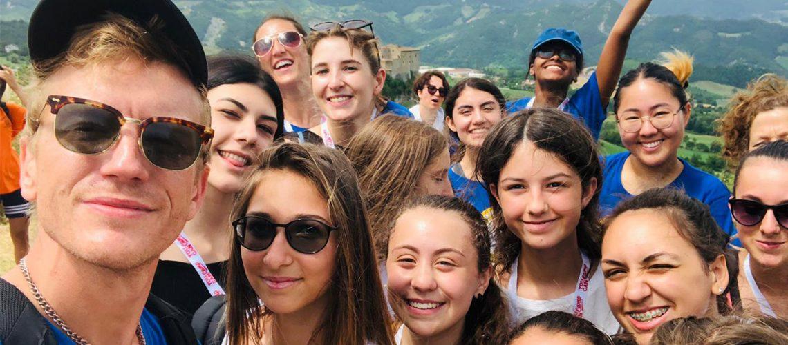 you can camp campi estivi in lingua inglese nelle Marche