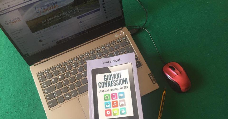 giovani connessioni libro immagine con computer