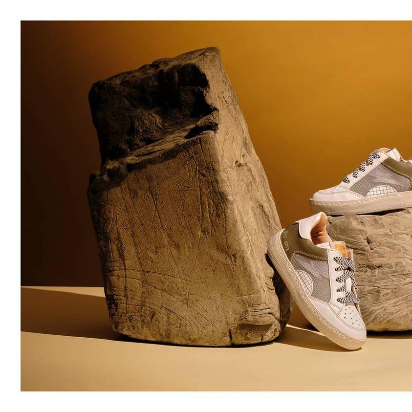 scarpe per bambini momino ocra