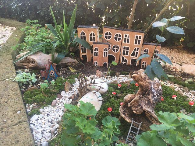 villaggio di nisse gnomo svedese a Macerata