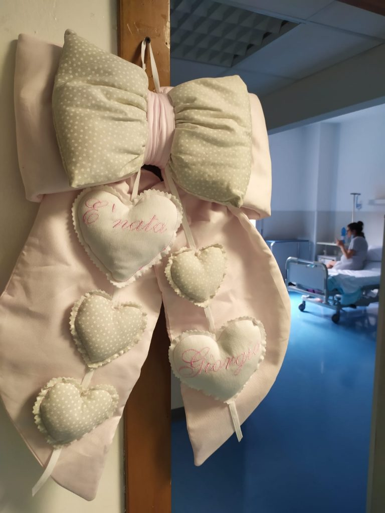 Fiocco nascita ospedale salesi