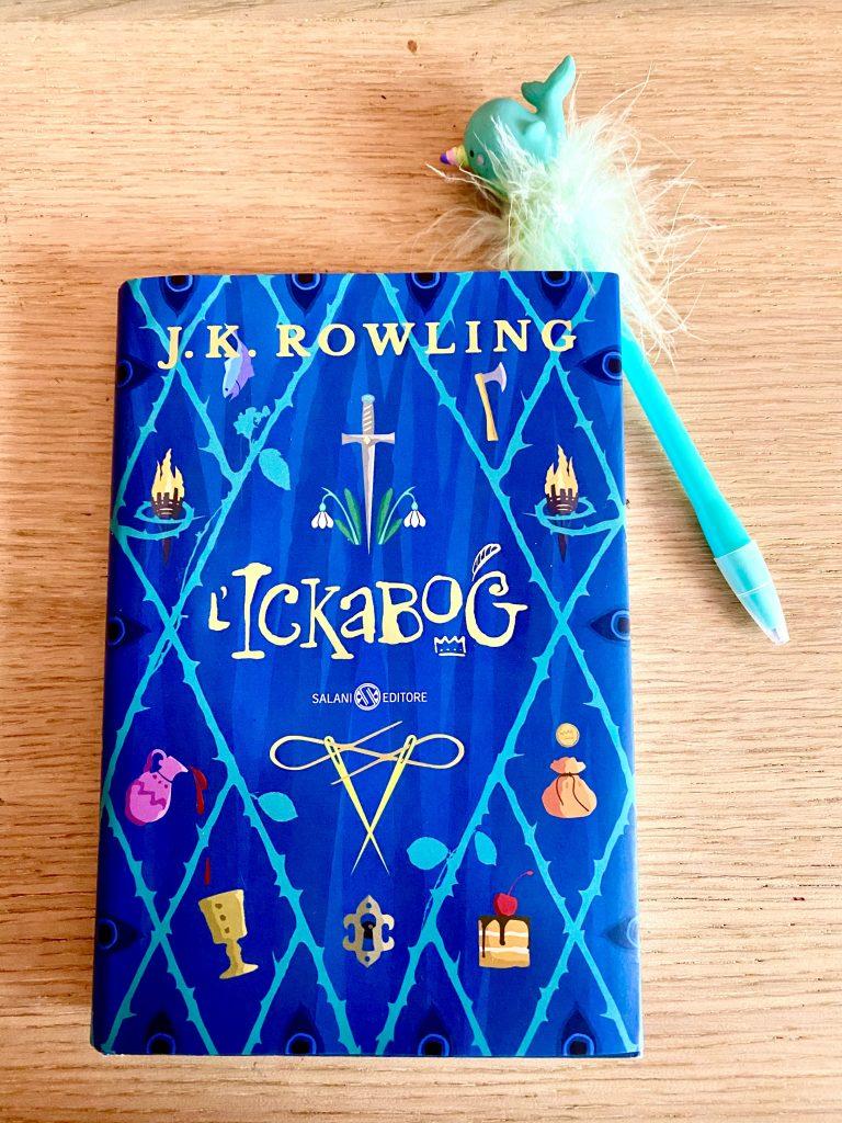L' Ickabog, di J.K. Rowling, copertina