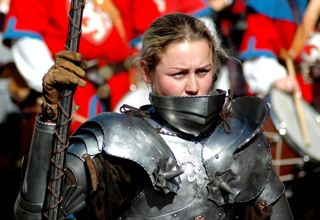 guerriere, esempio di donna