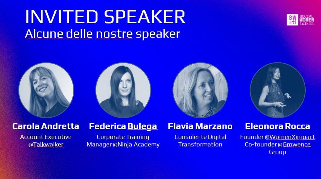 speakers social women talk