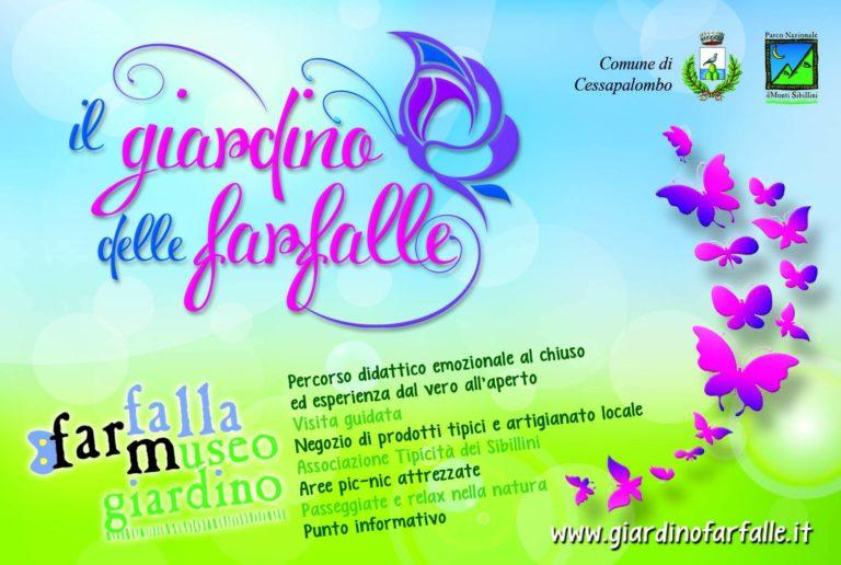 logo del giardino delle farfalle
