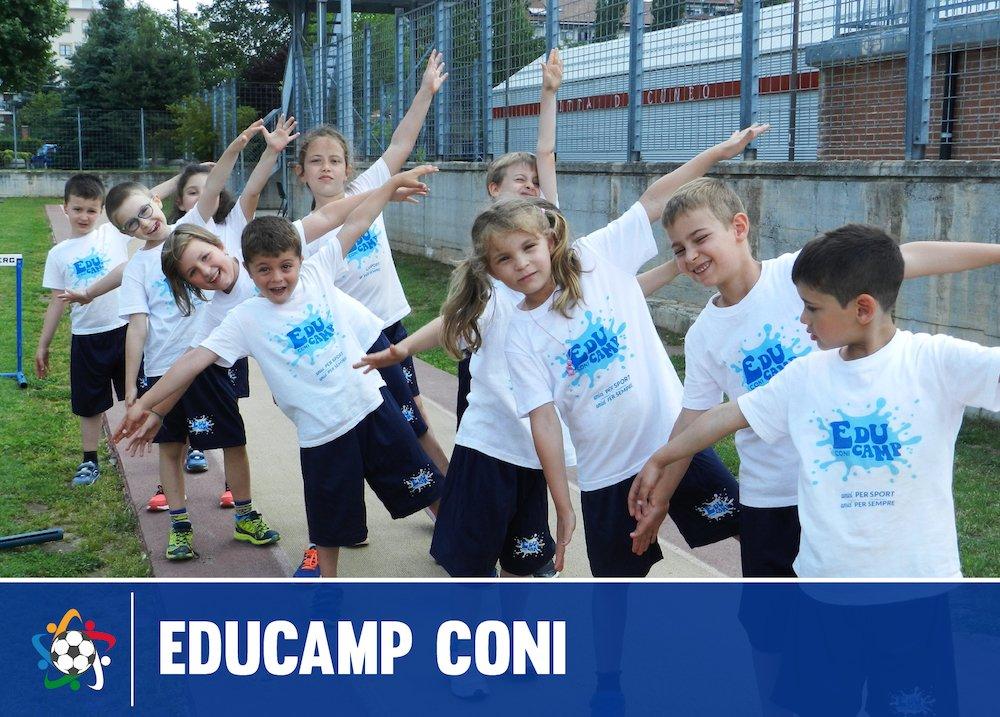 educamp coni Macerata locandina con bambini