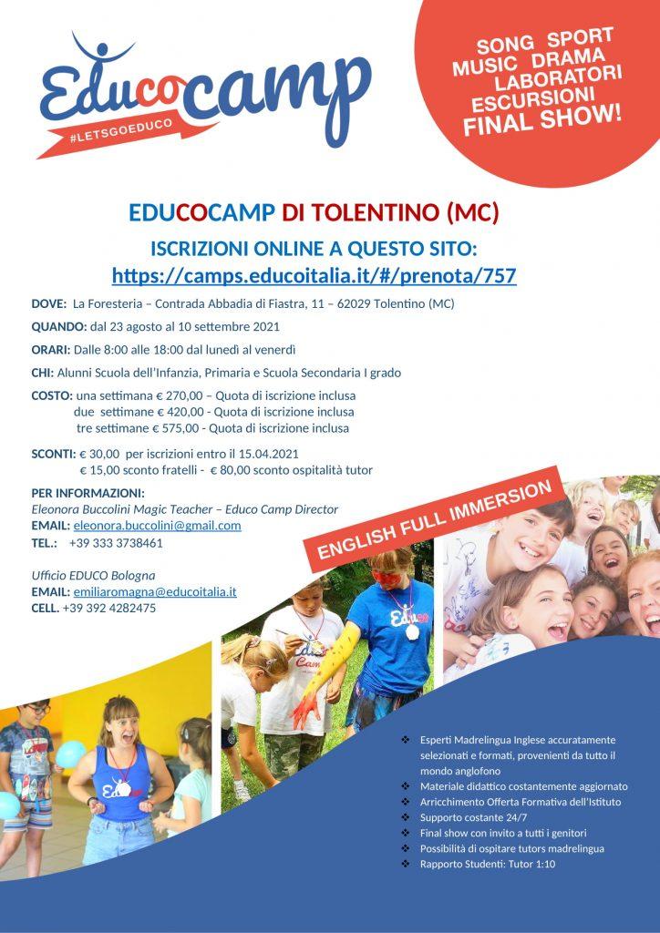 locandina educocamp