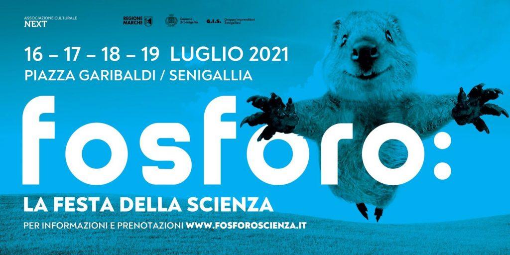 fosforo 2021 festa della scienza a senigallia locandina
