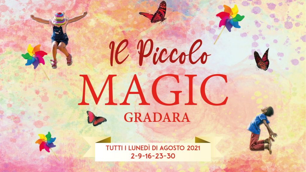 magic castle 2021 gradara locandina