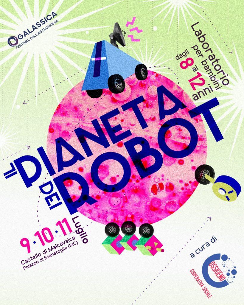 galassica 2021 festival astronomia locandina laboratorio bambini