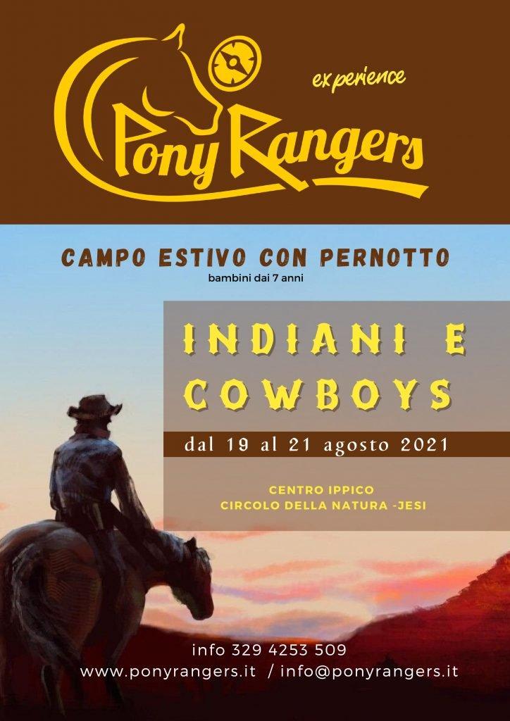 pony rangers experience jesi locandina