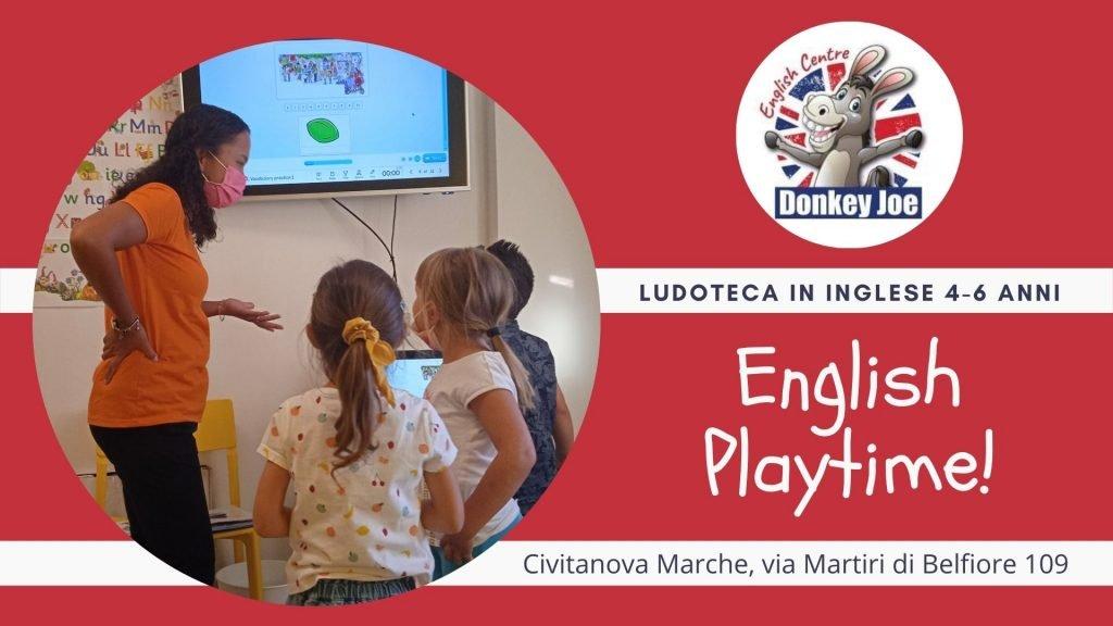 english playtime ludoteca in inglese locandina civitanova marche