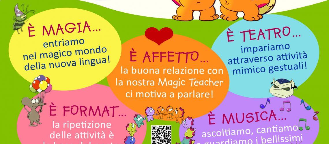 corsi di lingue per bambini locandina